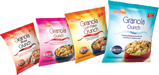Sunshine Granola Packs